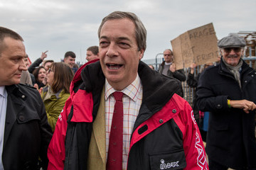 Nigel Farage Fishing For Leave To Protest Brexit Deal