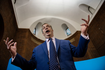 Nigel Farage European Best Pictures Of The Day - December 10, 2019