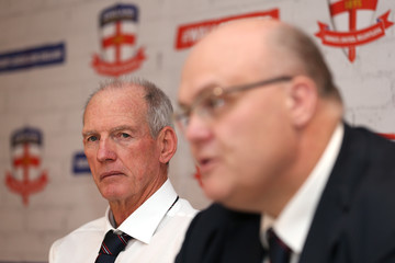 Nigel Wood Wayne Bennett Unveiled as New England Rugby League Coach