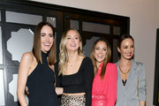 "(L-R) Louise Roe, Lauren Bushnell, Jana Kramer, and Cara Santana attend the ""I Am the Night"" Influencer Junket on January 23, 2019 in Los Angeles, California. 484192."