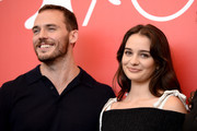 Sam Claflin and Aisling Franciosi attend 'The Nightingale' photocall during the 75th Venice Film Festival at Sala Casino on September 6, 2018 in Venice, Italy.