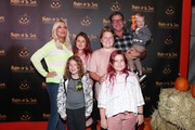 Tori Spelling (L) and Dean McDermott and family attend Nights of the Jack Friends & Family Night 2019 on October 02, 2019 in Calabasas, California.