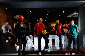Adam Johnson James Milner Nike Open First Football Only Store