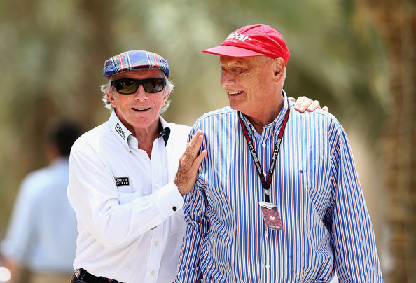 Image result for niki lauda and jackie stewart