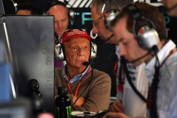 Niki Lauda F1 Grand Prix of Brazil - Previews
