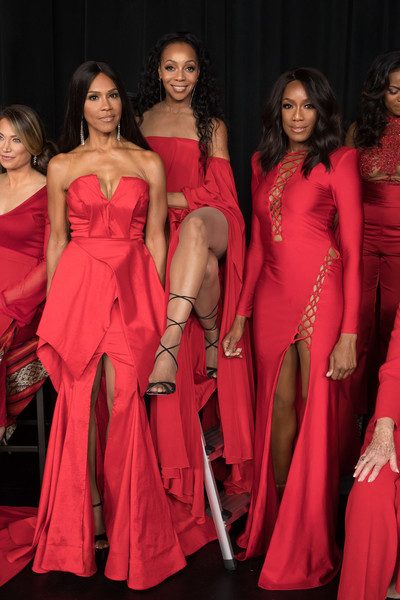 The American Heart Association's Go Red for Women Red Dress Collection 2018 Presented By Macy's - Backstage