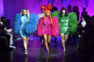 Nikita Dragun 2020 Christian Cowan x Powerpuff Girls Runway Show - Inside