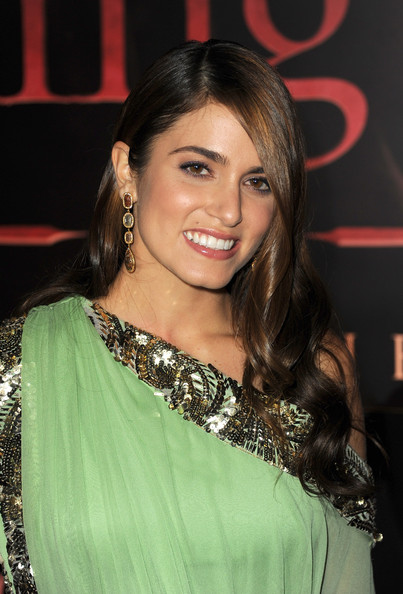 nikki reed wedding hair