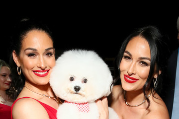 Nikki Bella The American Heart Association's Go Red For Women Red Dress Collection 2019 - Backstage