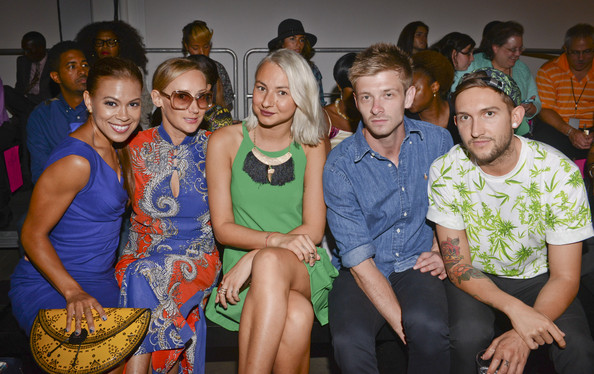 K. Nicole - Front Row - Mercedes-Benz Fashion Week Spring 2015
