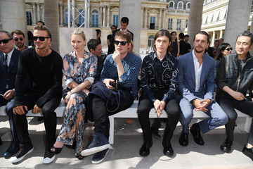 Nikolai Von Bismarck Louis Vuitton : Front Row  - Paris Fashion Week - Menswear Spring/Summer 2017
