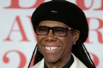 Nile Rodgers The BRIT Awards 2018 - Red Carpet Arrivals