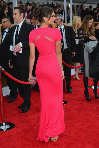 Nina Dobrev - 19th Annual Screen Actors Guild Awards - Red Carpet