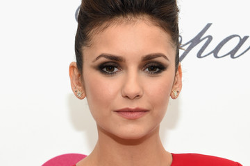Nina Dobrev Arrivals at the Elton John AIDS Foundation Oscars Viewing Party — Part 3