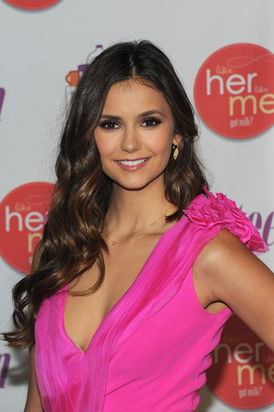 "Nina Dobrev - Actress Nina Dobrev Launches ""Like Her, Like Me"" And Searches For The Next Mother-Daughter Milk Mustache Got Milk? Stars - Arrivals"