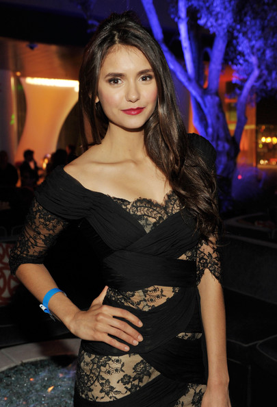 Nina Dobrev Actress Nina Dobrev attends Entertainment Weekly's 5th Annual Comic-Con Celebration sponsored by Batman: Arkham City held at Float, Hard Rock Hotel San Diego on July 23, 2011 in San Diego, California.
