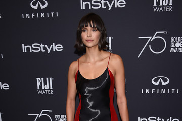 Nina Dobrev Hollywood Foreign Press Association and InStyle Celebrate the 75th Anniversary of the Golden Globe Awards - Arrivals