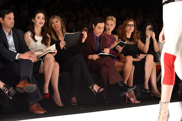 Project Runway - Front Row - Mercedes-Benz Fashion Week Spring 2015