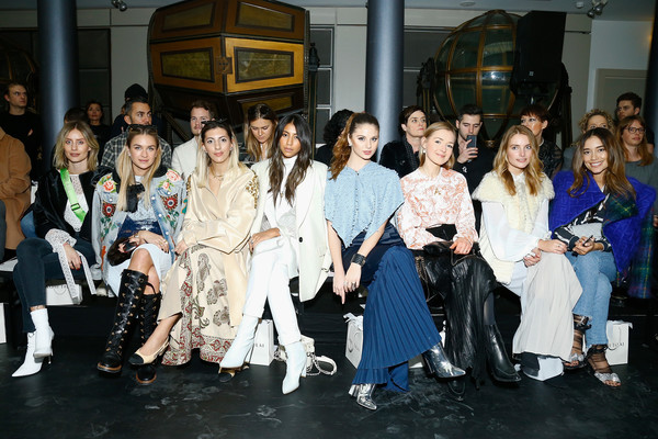 Nobi Talai: Front Row - Paris Fashion Week Womenswear Fall/Winter 2018/2019