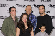 """Kevin Corrigan, Bob Glaudini, Rosal Colon, Samuel Mercedes and Dominic Fumusa attend the """"Ninth and Joanie"""" cast photocall at The Bank Street Theater on March 16, 2012 in New York City."""