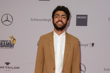 Noah Becker Arrivals at the Tribute to Bambi