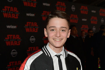 Noah Schnapp Premiere of Disney Pictures and Lucasfilm's 'Star Wars: The Last Jedi' - Red Carpet