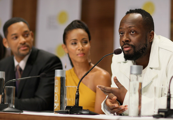 Wyclef Jean Wife. Singer Wyclef Jean talks as