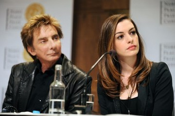 Anne Hathaway Nobel Peace Prize Concert - Press Conference