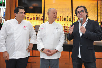 Nobu Matsuhisa A Lunch Hosted by Nobu Matsuhisa and Jose Garces - 2016 Food Network & Cooking Channel South Beach Wine & Food Festival