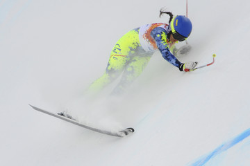 Noelle Barahona Alpine Skiing - Winter Olympics Day 3