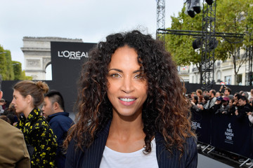 Noemie Lenoir Le Defile L'Oreal Paris Front Row - Paris Fashion Week Womenswear Spring/Summer 2018