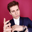 Nolan Gerard Funk 21st Costume Designers Guild Awards x Getty Images Portrait Studio presented by LG V40 ThinQ