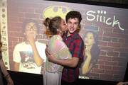 Actress Sarah Hyland and actor Nolan Gould attend his 16th birthday party held at Smogshoppe on October 26, 2014 in Los Angeles, California.