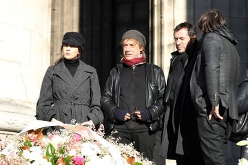 Nolwenn Leroy France National Tribute to Johnny Hallyday at La Madeleine Church in Paris
