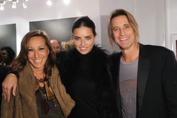 "Adriana Lima ""Nomad Two Worlds"" Russell James Exhibit Opening"