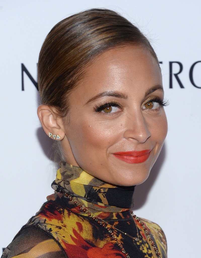 Transition Orange Lips into Fall—Like Nicole Richie!