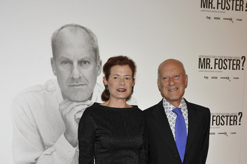 Elena Ochoa Norman Foster Attends 'How Much Does Your Building Weigh, Mr. Foster?' Premiere in Madrid