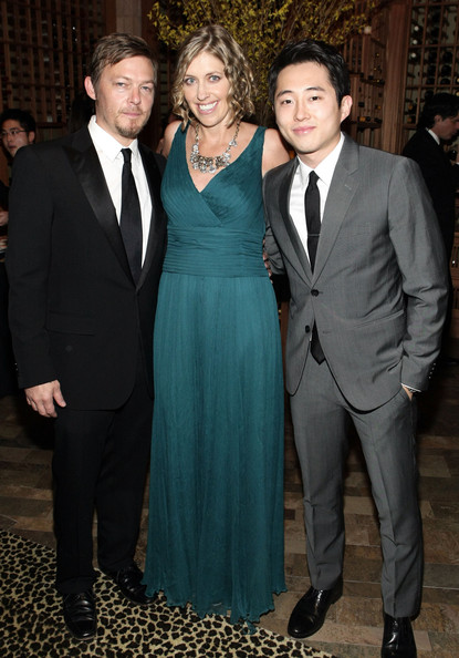 Norman Reedus Girlfriend http://www.zimbio.com/pictures/wLq_cTGDink/AMC+2011+Golden+Globe+Awards+Party/1BlfP8k2XL5/Norman+Reedus