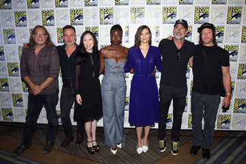 Norman Reedus Angela Kang AMC At Comic Con 2018 - Day 2