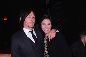 Norman Reedus August Getty - Front Row - Mercedes-Benz Fashion Week Fall 2015