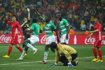 Alberto Undiano North Korea v Ivory Coast: Group G - 2010 FIFA World Cup