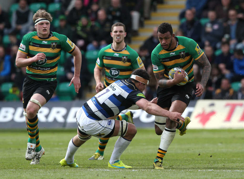 Bill Barth Ford >> Francois Louw Photos Photos - Northampton Saints v Bath Rugby - Aviva Premiership - Zimbio