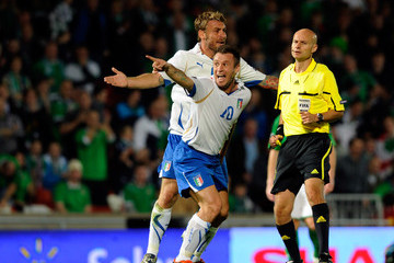 Tony Chapron Northern Ireland v Italy - EURO 2012 Qualifier