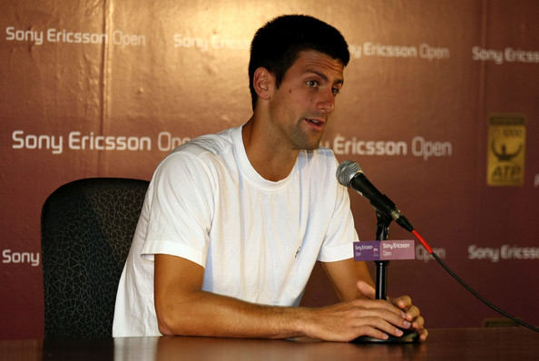 Novak Djokovic Riding High To