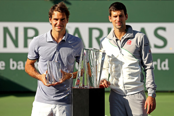 Novak+Djokovic+BNP+Paribas+Open+Day+14+P