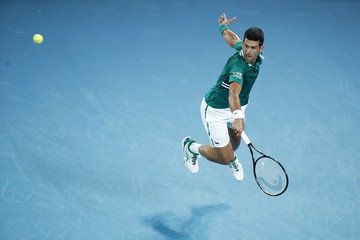 Novak Djokovic European Best Pictures Of The Day - February 16