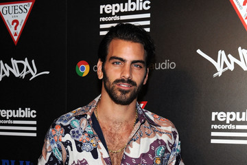 Nyle DiMarco FIJI Water At Republic Records VMA Party