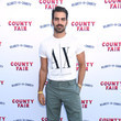 Nyle DiMarco Seth Rogen And Lauren Miller Rogen Host Hilarity For Charity's County Fair