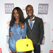 Nzinga Blake GUESS Foundation and Peace Over Violence Denim Day Cocktail Event at MOCA
