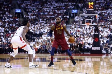 OG Anunoby Cleveland Cavaliers vs. Toronto Raptors - Game Two